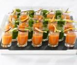 Carrot Orange Gazpacho - Andrea Bricco