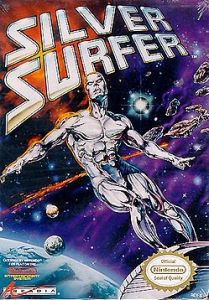 Silver Surfer NES boxart