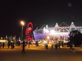 Night time at the paralympics