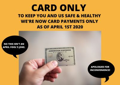 CARD ONLY APRIL FOOLS