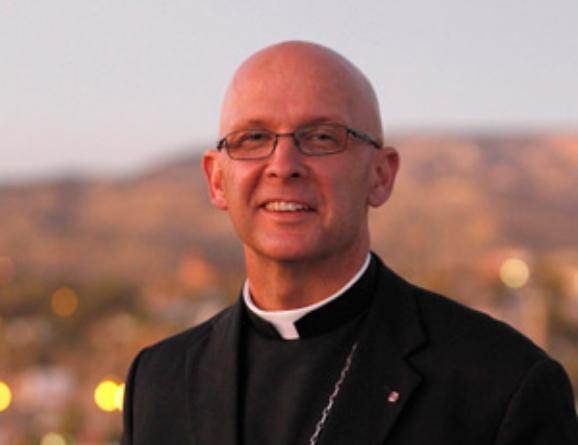 Bishop James S. Wall Portrait.