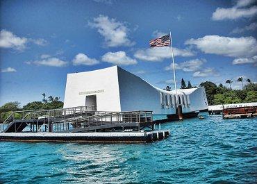 USS Arizona Memorial in Hawaii