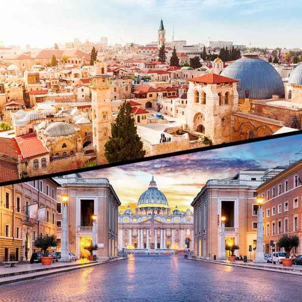 Product Image: Isreal skyline and rome skyline