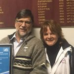 Chris Thomson recognition from Tennis Victoria