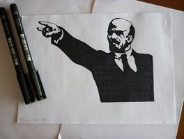 Black metal Lenin CREDIT: