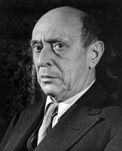 Arnold Schoenberg (1874-1951), one of the most important figures in the history of Western art music