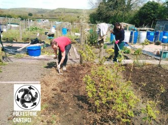 Folkestone, Cantiaci, Kent, Community, Transition Town, Sustainable, Allotment
