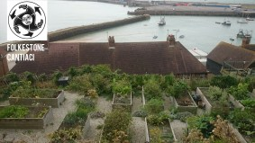 Folkestone, Cantiaci, Transition Town, Community, Folkestone Cantiaci, allotments, Harbour ward, water butts