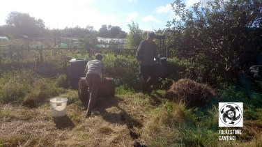 Folkestone Cantiaci, Cantiaci, Community, Folkestone, Transition Town, Allotment, Organic, Compost, Beds,