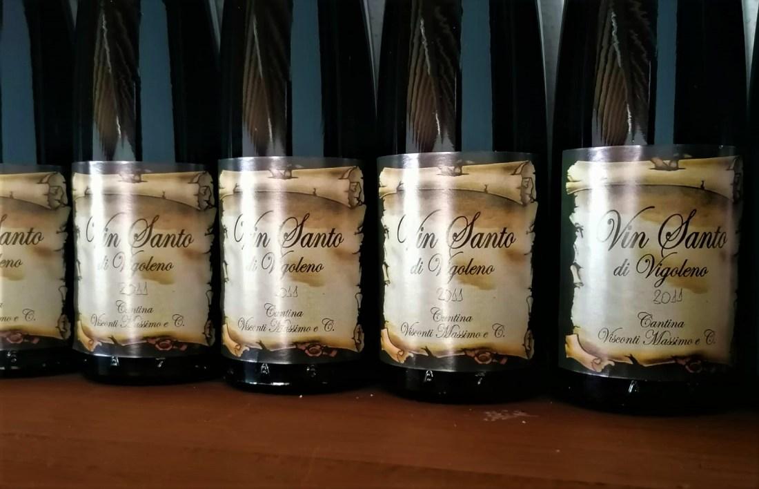 Bottiglie di Vin Santo di Vigoleno