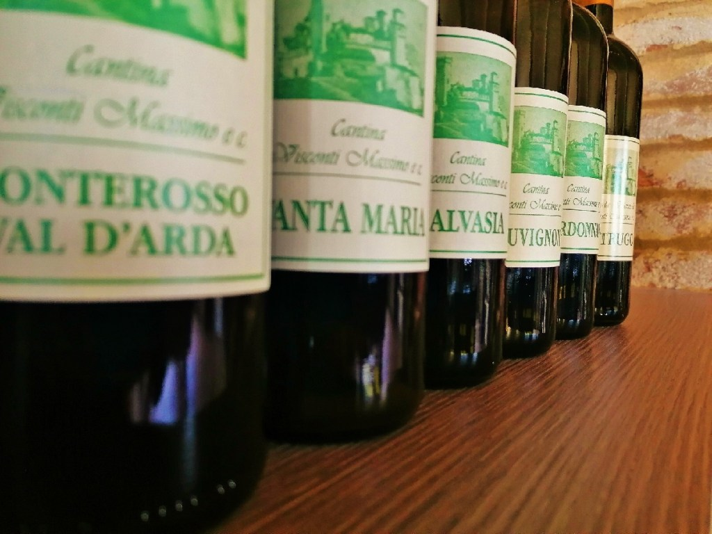 Vini bianchi di Cantina Visconti