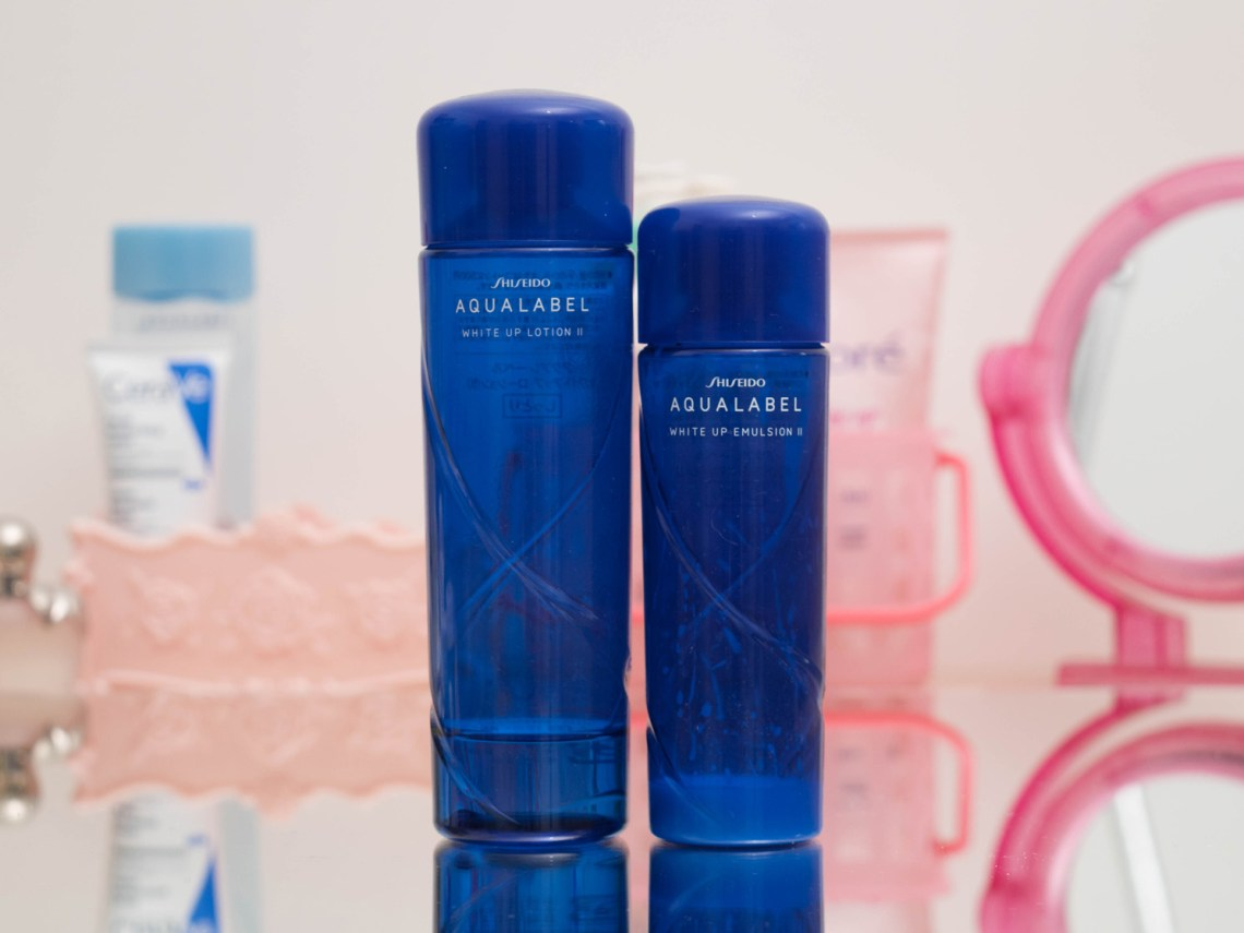 Resenha do Shiseido Aqualabel White Up Loyion e Emulsion II
