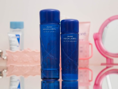 Resenha do Shiseido Aqualabel White Up Loyion e Emulsion II