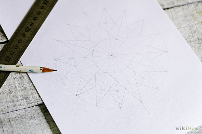 670px-Draw-a-Compass-Rose-Step-10