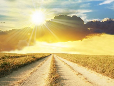 uma longa estrada