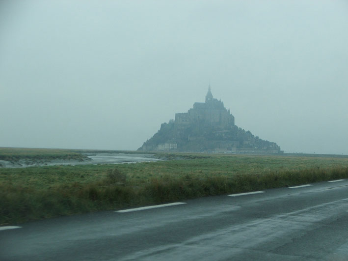 Mont Saint Michel chegada