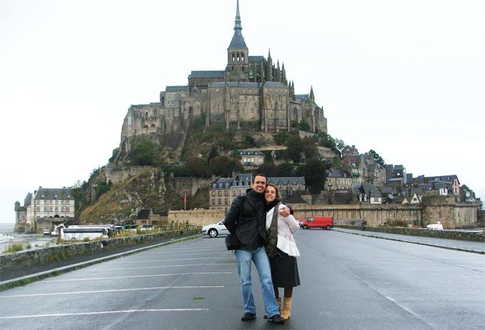Bate-volta ao Mont Saint Michel na França