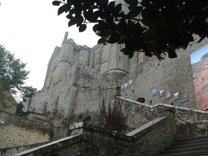 Mont Saint Michel subida