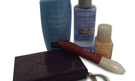 Lista de produtos de beleza comprados em viagens