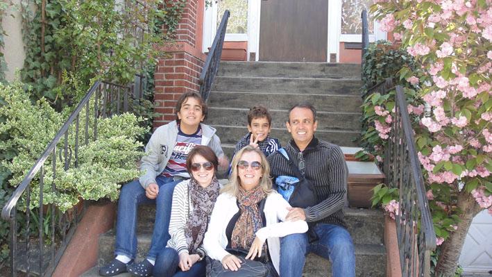 apartamento em New York familia