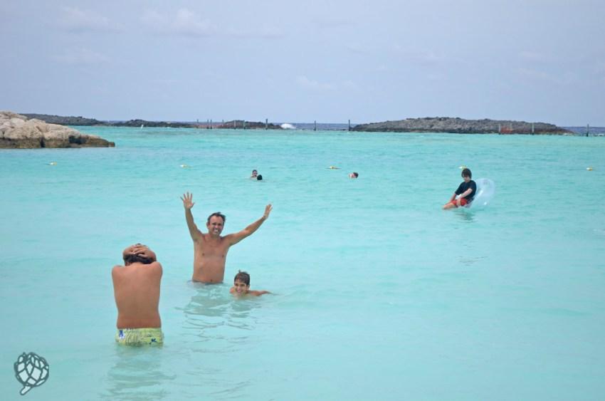 Castaway Cay banho