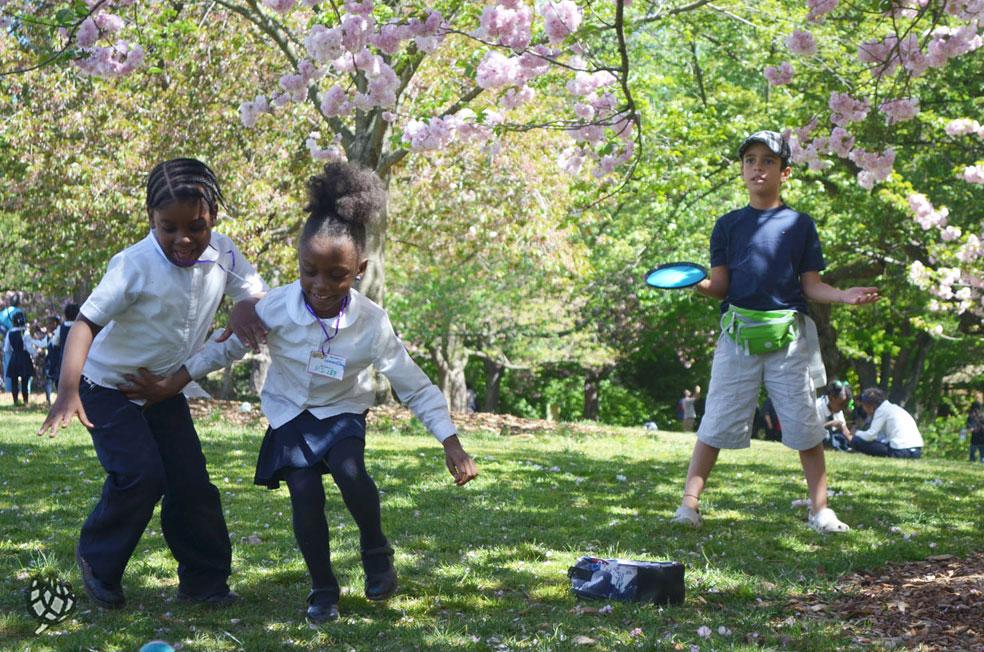 brooklyn botanic garden criancas