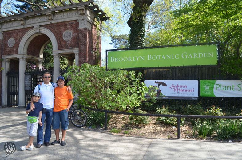 Brooklyn Botanic Garden e o Cherry Blossom