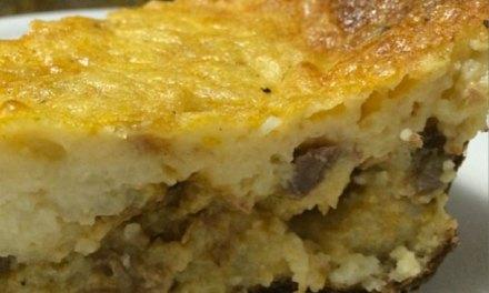 Torta de arroz – super prática