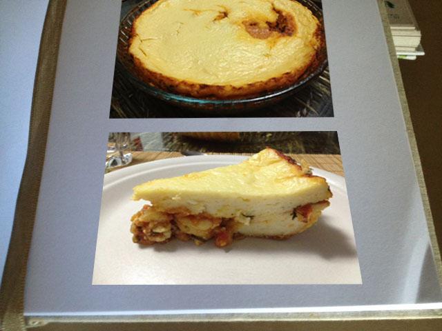fotos torta de arroz
