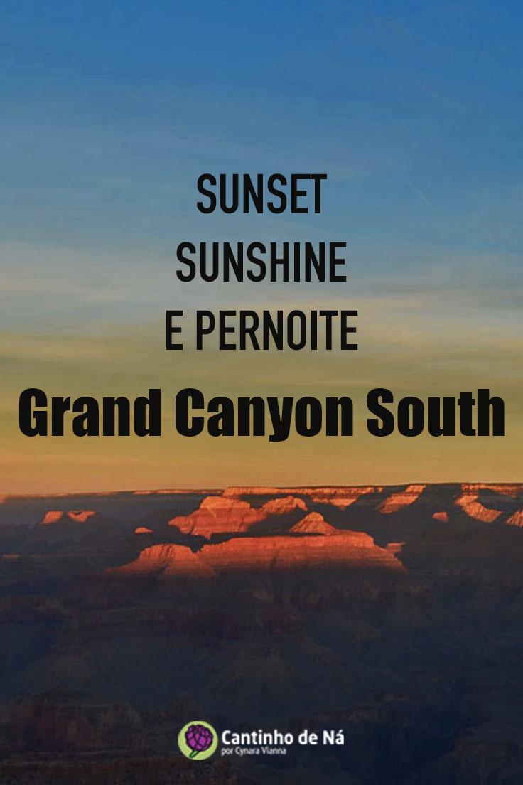 Pernoite no Grand Canyon South