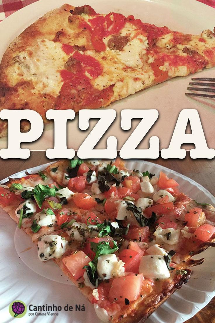 Onde comer pizza pelo mundo