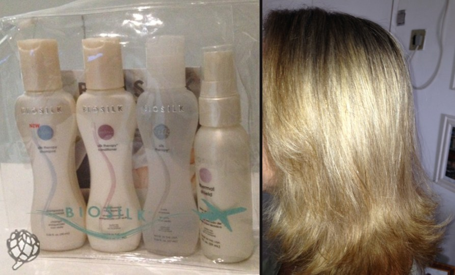 cabelo e kit Biosilk