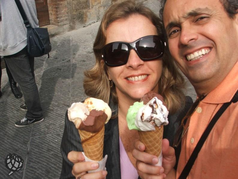 sorvete San Gminigano