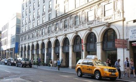 Hotel Paramount em New York, perto da Times Square