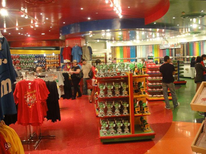 M&M's Store vale uma visita sempre