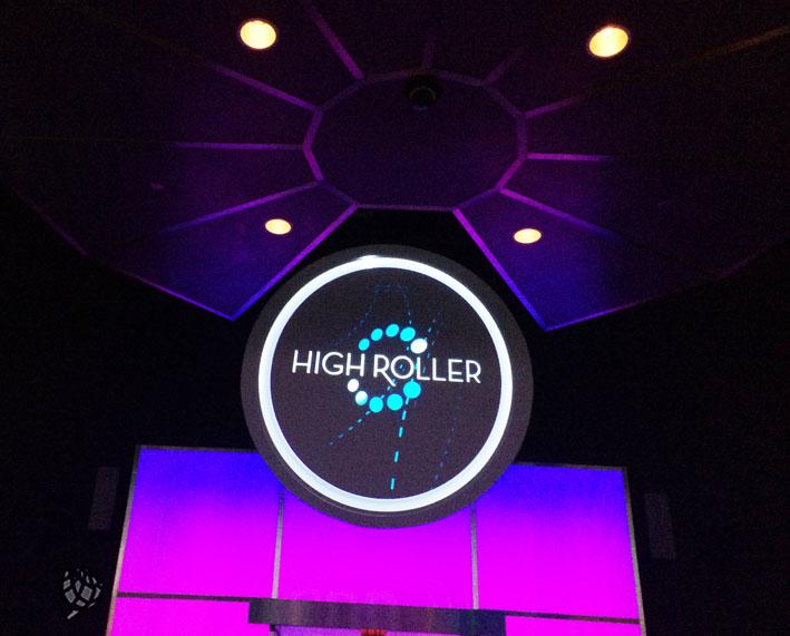 High Roller entrada