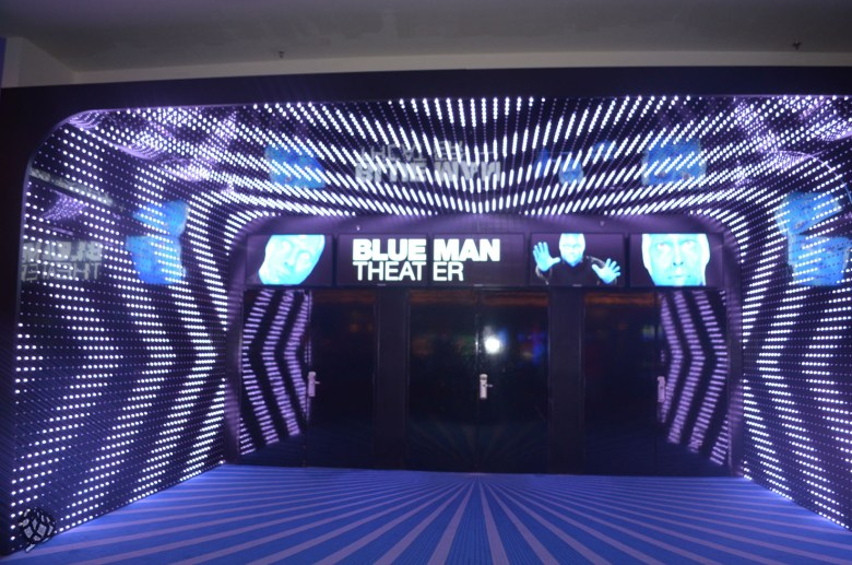 Blue Man Las Vegas entrada