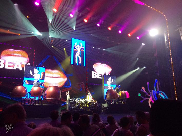 Blue Man Las Vegas palco1
