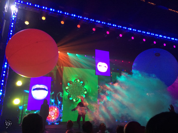 Blue Man Las Vegas palco3