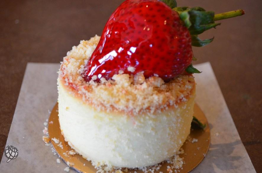 Carlos Bake Shop cheesecake