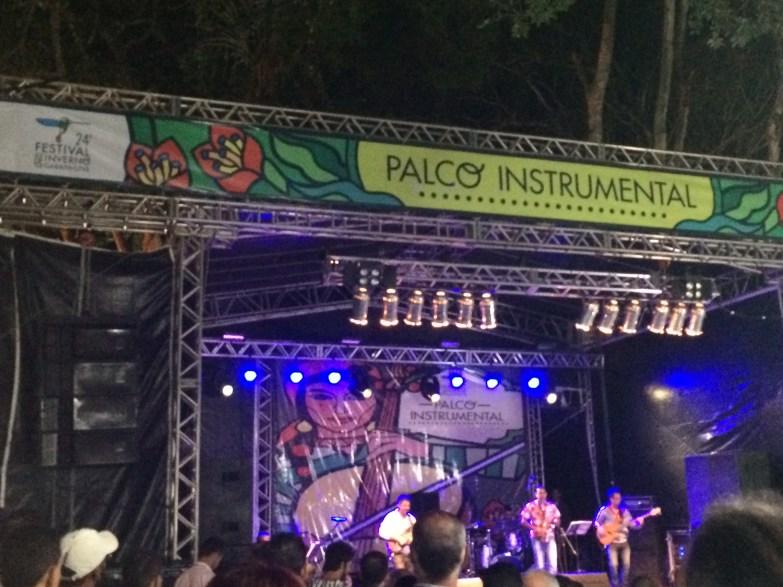 Festival de INverno de Garanhuns - Palco instrumental