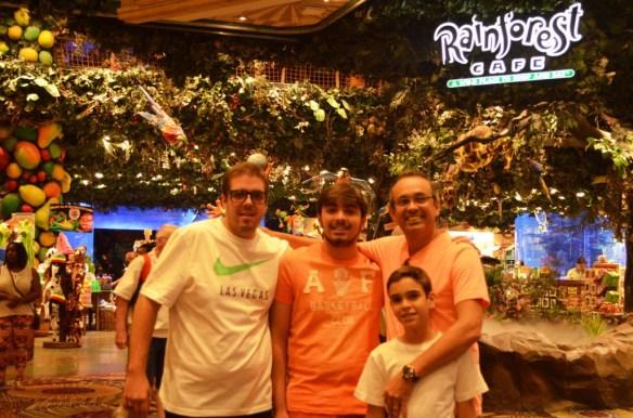 Rainforest Las Vegas todos