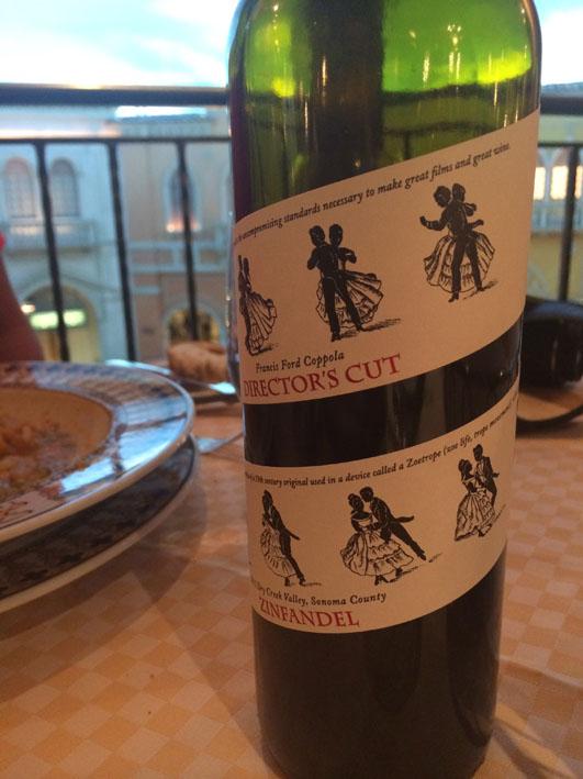 Zeffirino vinho
