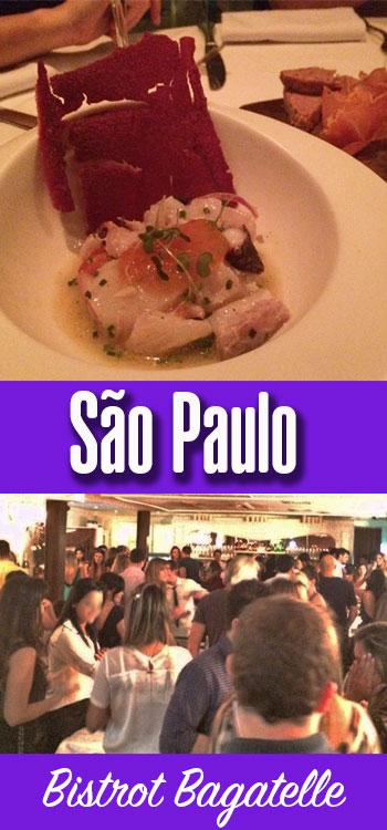 Review do Bistrot Bagatelle em São Paulo