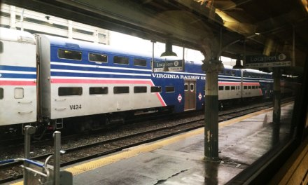 Trem Amtrak de Washington para New York