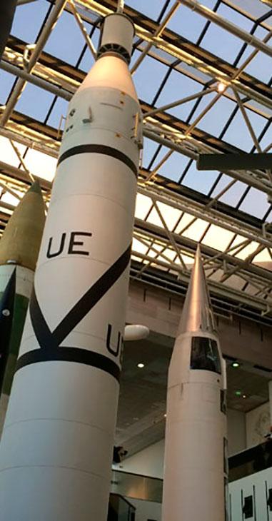 Museu Nacional do Ar e do Espaço em Washington DC