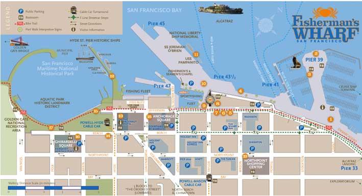 San-Francisco-Fishermans-Wharf-mapa