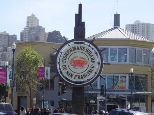 San Francisco: Fisherman's Wharf e os piers