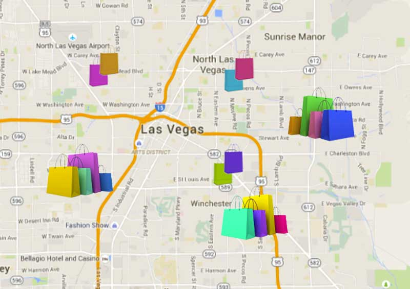 12 dicas tentadoras para compras em Las Vegas além dos outlets