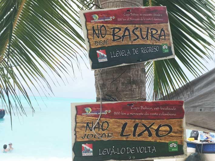 Como-e-o-passeio-a-Cayo-Bolivar-placas